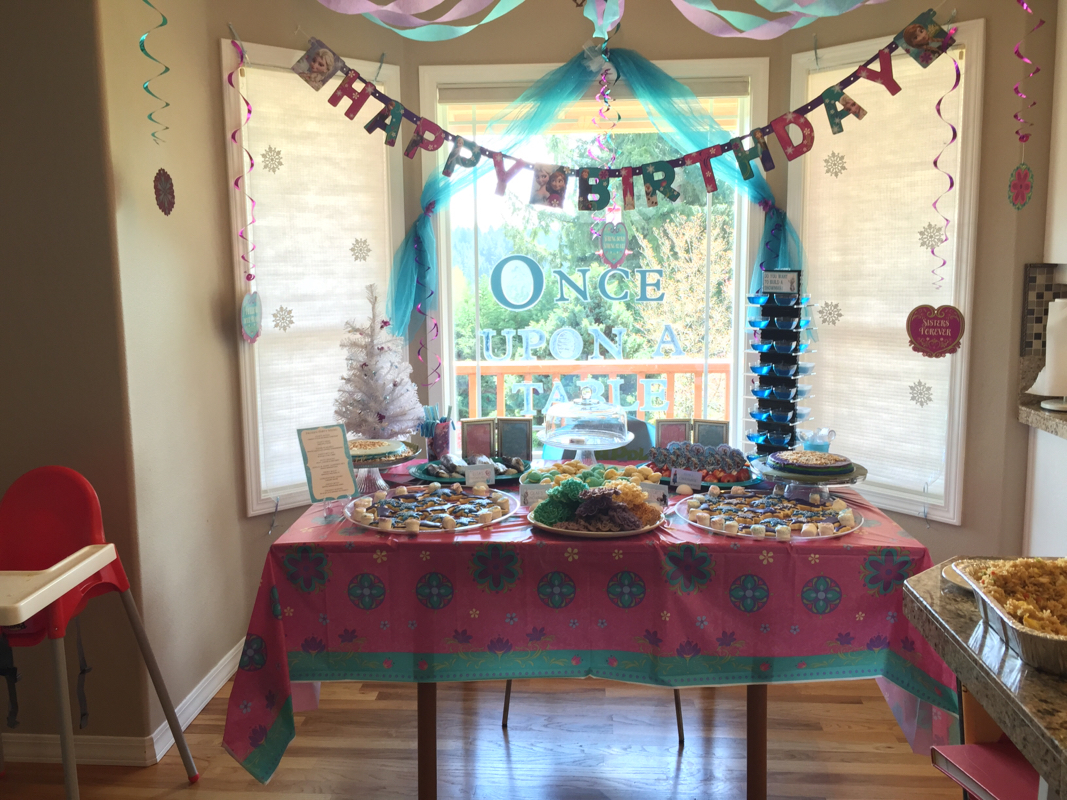 Mileina's 2nd Frozen Birthday Party