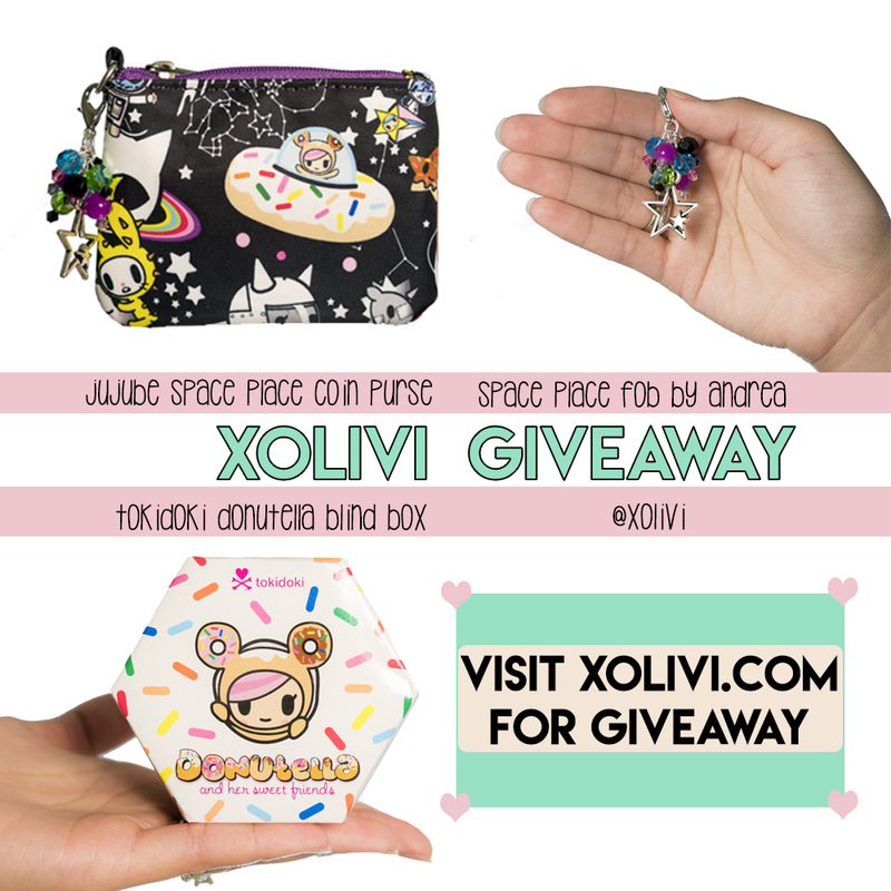 XoLivi's First Giveaway – Jujube, Tokidoki, Fobs By Andrea!